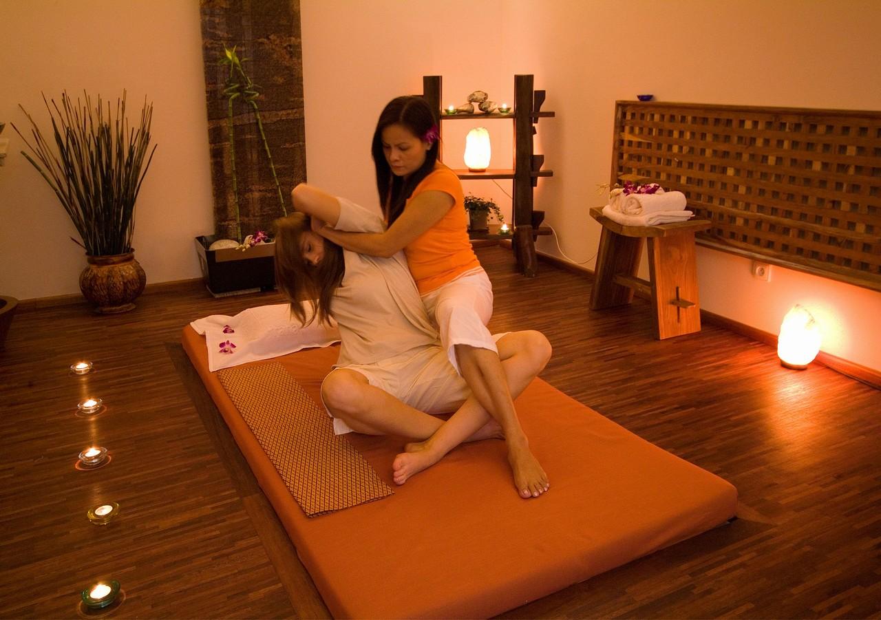 Тайский масаж відео 15 фотография